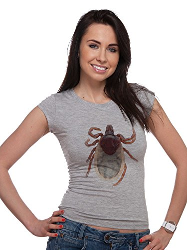 realistic-parasite-insect-tick-photo-womens-t-shirts