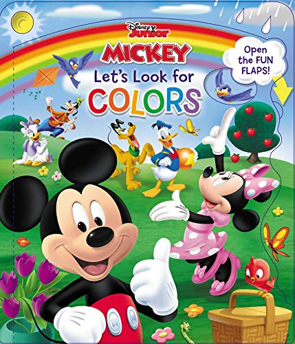 Disney Mickey & Friends Let's Look for Colors (Open Door Book) (Mickey Mouse In Color)