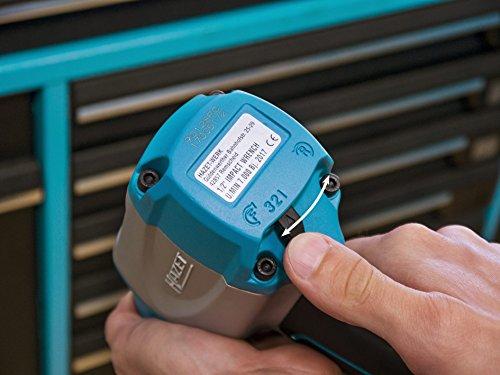 HAZET Druckluft-Schlagschrauber (max. Lösemoment 850 Nm, Vierkant 12,5 mm (1/2 Zoll), Hochleistungs-Stift-Schlagwerk) 9012SPC