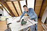 Bosch DIY Stichsäge PST 900 PEL, 1 Sägeblatt T 144 D, Spanreißschutz, CutControl, Transparenter Abdeckschutz, Sägeblattdepot, Koffer (620 W, Schnittiefe 90 mm Holz, 8 mm Stahl) -