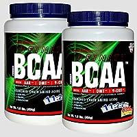Preisvergleich für EXP BCAA 2:1:1 Pulver 2x 454g = 86 Portionen (AAR-DMT-9OXO) | Aminosäuren ( Leucin, Isoleucin, Valin,) Hochdosiert...