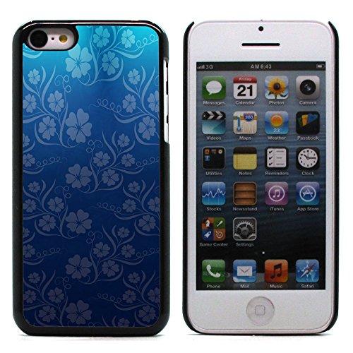 Graphic4You Grün Muster Harte Hülle Case Tasche Schutzhülle für Apple iPhone 5C Design #16
