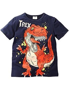 Gold Treasure Camiseta de Manga Corta de Chicos 2-7 Años