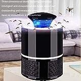 ZLMI LED-Mückenschutz Fotocatalizador Repelente De Mosquitos USB-Mückenschutz Electrónico Hogar 5V,Black