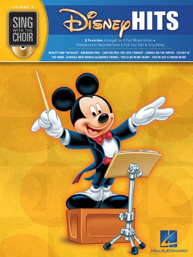 Sing With The Choir Volume 8: Disney Hits (Book And CD)