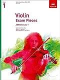 Image de Violin Exam Pieces 2016-2019, ABRSM Grade 1, Part: Selected from the 2016-2019 syllabus (ABRSM Exam Pieces)