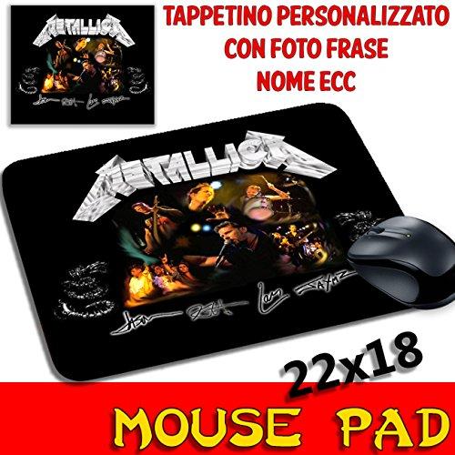 Preisvergleich Produktbild Maus Pad Metallica Personalisierte Mauspad mit Foto, Logo