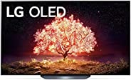 LG OLED TV 55 Inch B1 Series Cinema Screen Design 4K Cinema HDR webOS Smart with ThinQ AI Pixel Dimming