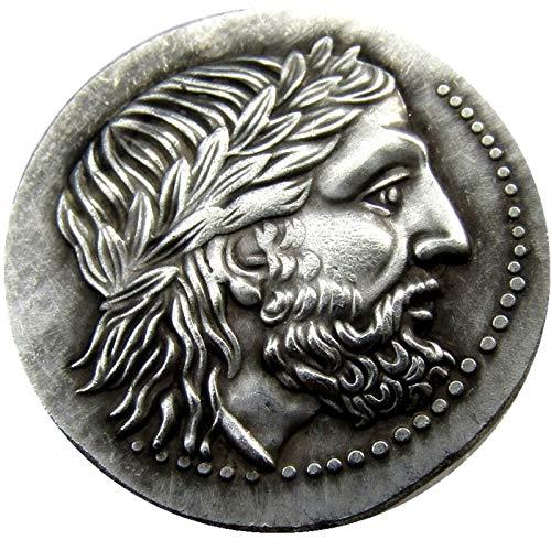 Truteraa - Seltene Altgriechisch Silber Tetradrachm Münze von König Philip II von Macedon - 323 BC Copy Coins - Münzen Seltene Buch