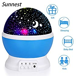 Night Light For Children, Sendis Baby Star Projector Night Light Kids Rotating Light