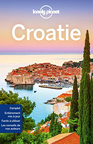 Croatie - 8ed par Lonely Planet LONELY PLANET