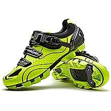 SANTIC Zapatillas Ciclismo MTB Zapatillas Bicicleta Montaña Hombre Zapatos Ciclismo Calzado Bicicleta Montaña ...