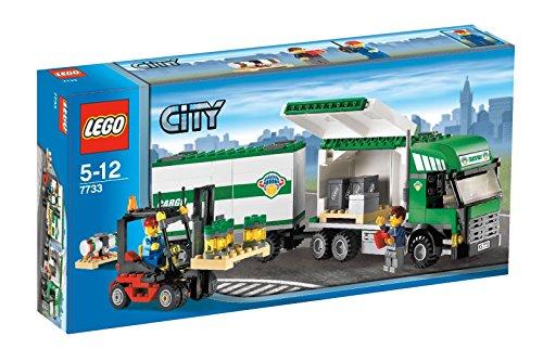 LEGO City 7733 - LKW mit Gabelstapler - City Lego Ziel