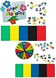 Unbekannt 280 Stück: Moosgummi Buchstaben + Zahlen - Streumotive Streukonfetti - für Schulanfang Deko Schultüte Schulbeginn Schule Streuteile Moosgummibuchstaben Streud..