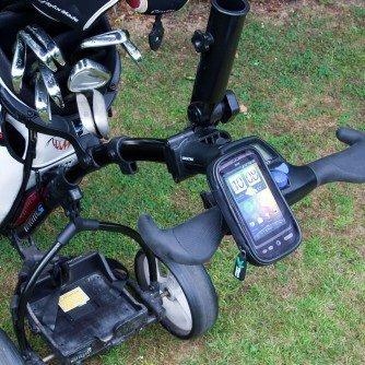 Golfwagen Wagen Handy Halterung & wasserdichtes Case für die Apple iPhone 3G 3GS Smartphone (SKU 8210)