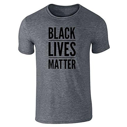 Pop Threads Herren T-Shirt Dark Heather Gray