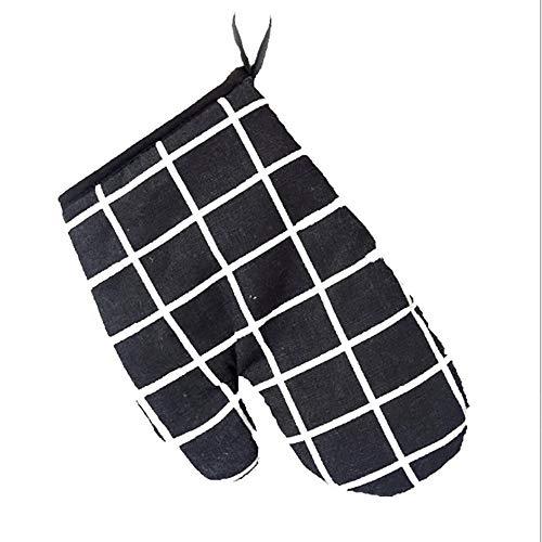 MILcea hitzebeständig und lang, Küchen-/Back-Handschuhe für Schutz bei heißem Kochen und Grillen, Paar