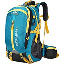 HENDTOR 30L Men Women Mochila al Aire Libre Hiking Rucksack Water Resistant Sport Bags Mountaineer Climbing