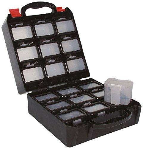 Perel obb1Kunststoff Tool Box mit 18Wechselrahmen Einsätze für Gürtel