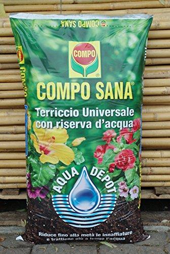 Compo Sana Blumenerde universal mit Reserve Wasser 50Liter Sack