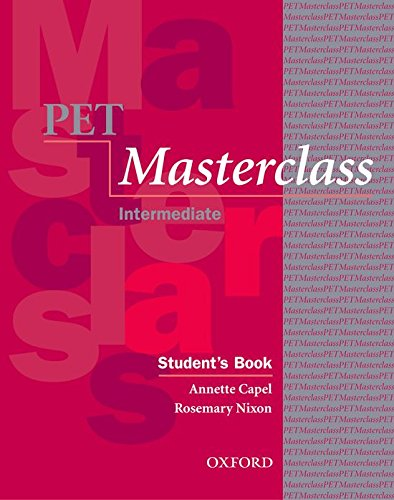 PET Masterclass:: Preliminary English Test Masterclass: Student's Book and Introduction to Preliminary English Test Pack (Preliminary English Test (Pet) Masterclass)