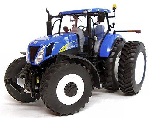 Trattore new holland t7050 1:32 - ros - mezzi agricoli e accessori - die cast - modellino
