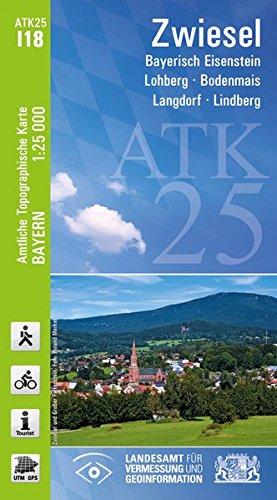 Preisvergleich Produktbild ATK25-I18 Zwiesel (Amtliche Topographische Karte 1:25000): Bayerisch Eisenstein, Lohberg, Bodenmais, Langdorf, Lindberg (ATK25 Amtliche Topographische Karte 1:25000 Bayern)