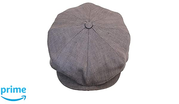 Olney Donegal Wool Magee Patchwork Newsboy Cap