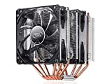 DEEPCOOL CPU Cooler Neptwin V2, 6 Heatpipes, Twin-Tower Heatsinks, Dual 120mm LED Fans