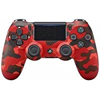 Plug in Dualshock 4 Wireless PS4 v2 Gaming Controller for PlayStation 4(PlayStation 4)(Red camouflage)