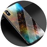 Coque pour iPhone 7 Plus en Verre Rigide pour iPhone X XR XS Max 8 7 6 6S Plus...