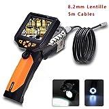Flylinktech Caméra d'Inspection Etanche HD 720P Caméra Endoscope USB Endoscope Numerique 3.5