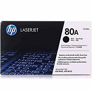 HP 80A Toner Noir Authentique (CF280A)