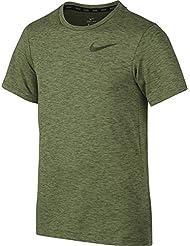 Nike B Nk Dry Ss Camiseta de Manga Corta, Niños, Verde (Palm Green / Legion Green), S