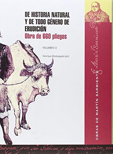 Descargar Libro De historia y de todo género de erudición: Obra de 660 pliegos: 2 de Martín Sarmiento