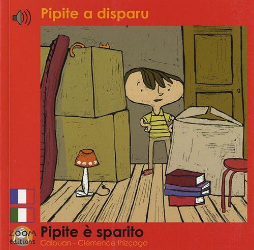 Pipite a disparu: Edition billingue français-italien