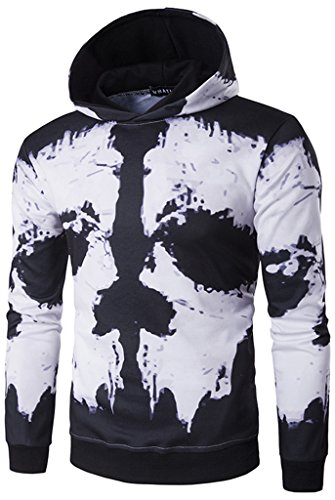 whatlees-men-long-sleeve-hooded-sweater-with-multicolored-skull-skull-death-pattern-street-fun-casua