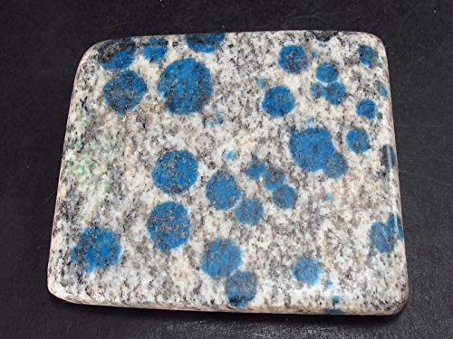 The Russian Stone K2 - Piedra engomada azurita de pakistaní, 4,7 cm