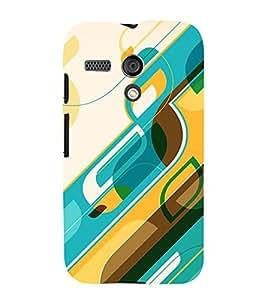 Fiobs Designer Back Case Cover for Motorola Moto G :: Motorola Moto G (1st Gen) :: Motorola Moto G Dual (Cool Patterns Design Art Shapes Sundar)