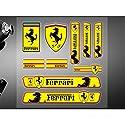 Encell PVC Auto Aufkleber, Emblem für Ferrari
