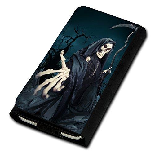 Book Style Flip Handy Tasche Case Schutz Hülle Foto Schale Motiv Etui für Medion Life P5015 - Flip U4 Design9