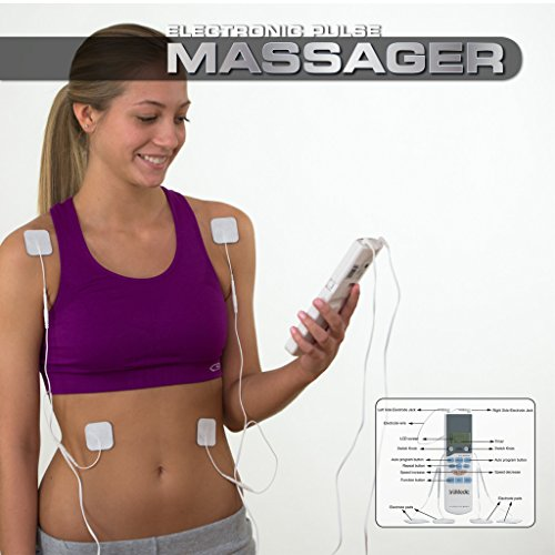 Sparsh Pulse Electronic Massager for Vibration, Muscle Toning and Shaping with Four Batteries