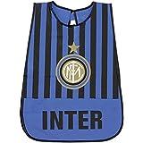 PERLETTI Delantal Infantil Inter Oficial - Bata Escolar Impermeable FC Official Internazionale con Bolsillo Delantero -