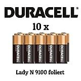 Duracell / N / Lady / LR1 / 4001 / MN9100 im 10er Pack