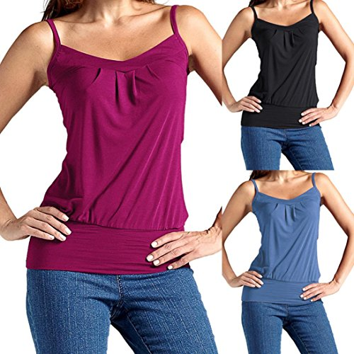 Ladies Plus Size Strap Vest Blouse Kanpola Women Summer Sexy Sleeveless Cotton Tank Top V Neck Casual Ruffle Cami Tops T-Shirt