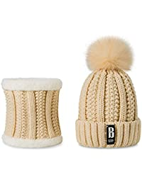 6e30f796963bb1 Godea 8 Colors Stylish New Women Scarf Hat Suits Plus Velvet Thick Autumn  Winter Warm Scarf