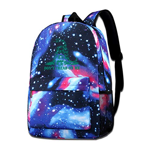 Don't Thread On Me Galaxy Casual Daypack - Unisex Backpack Shoulder Bag For School Travel -