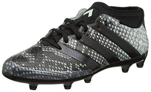 adidas Ace 16.3 Primemesh Fg/Ag, Scarpe da Calcio Uomo, Nero (Vapour Green F16/Core Black/Core Black), 44 2/3 EU
