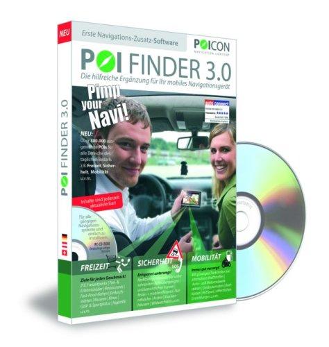 Preisvergleich Produktbild POI FINDER 3.0: Die hilfreiche Ergänzung für Ihr mobiles Navigationsgerät
