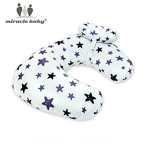 Hongch Confortable douce boppy Soutien bébé Coussin d'alimentation Coton Coussin d'allaitement